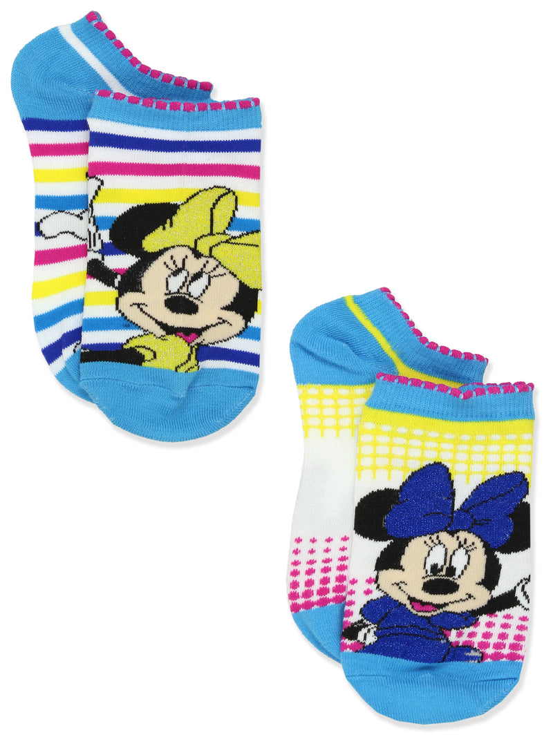 Minnie Mouse Womens Teen Adult 5 pack No Show Socks