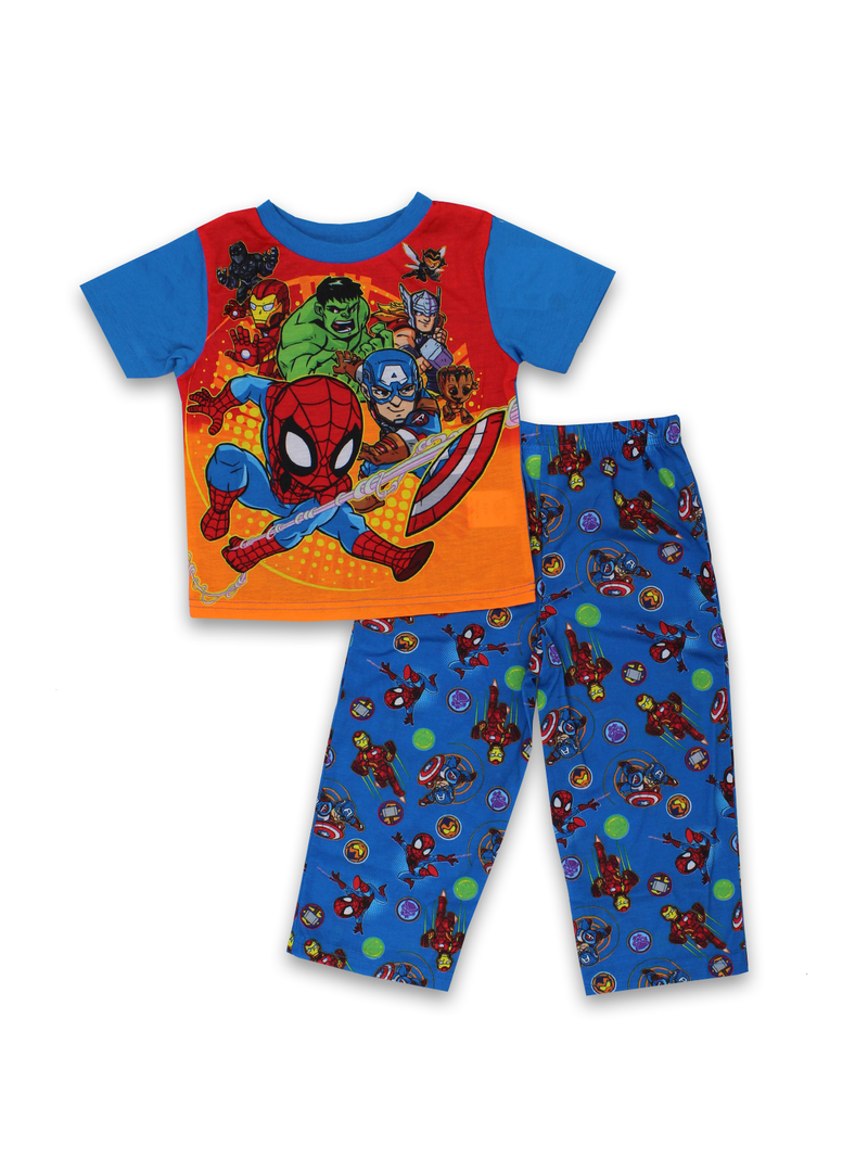 Super Hero Adventures Avengers Toddler Boys 2 piece Pajamas Set