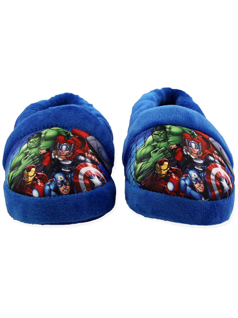 Marvel Avengers Superhero Boys Toddler Plush Aline Slippers