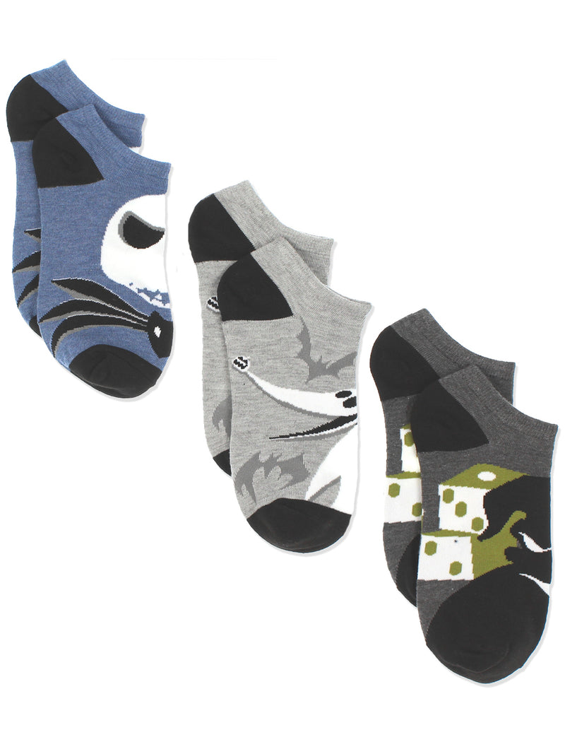 The Nightmare Before Christmas Men's 3 pack Socks Set