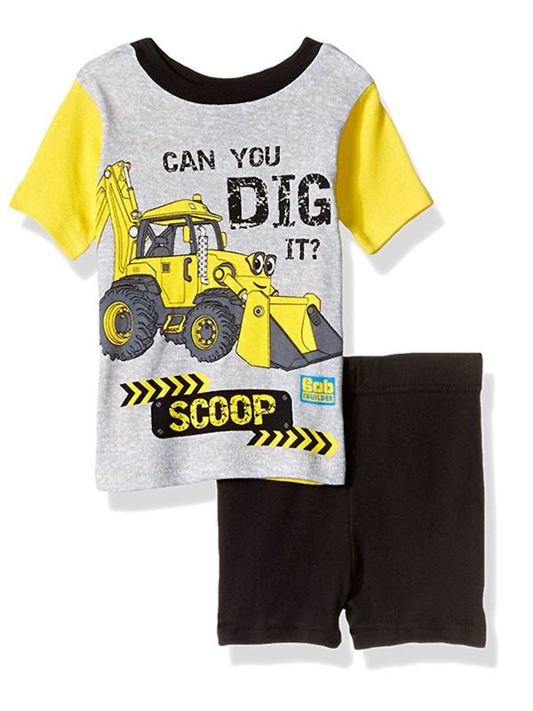 Bob the Builder Toddler Boys 4 piece Pajamas Set