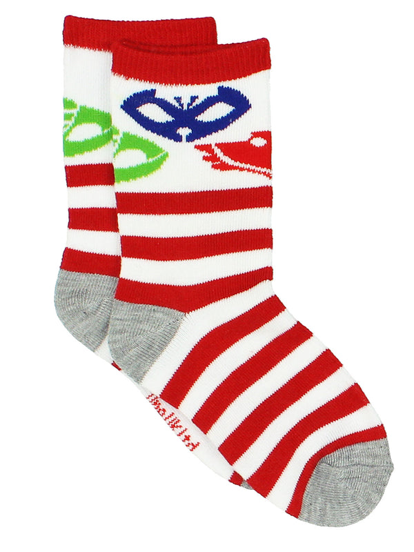 PJ Masks Toddler Boys Girls 3 pack Crew Socks Set