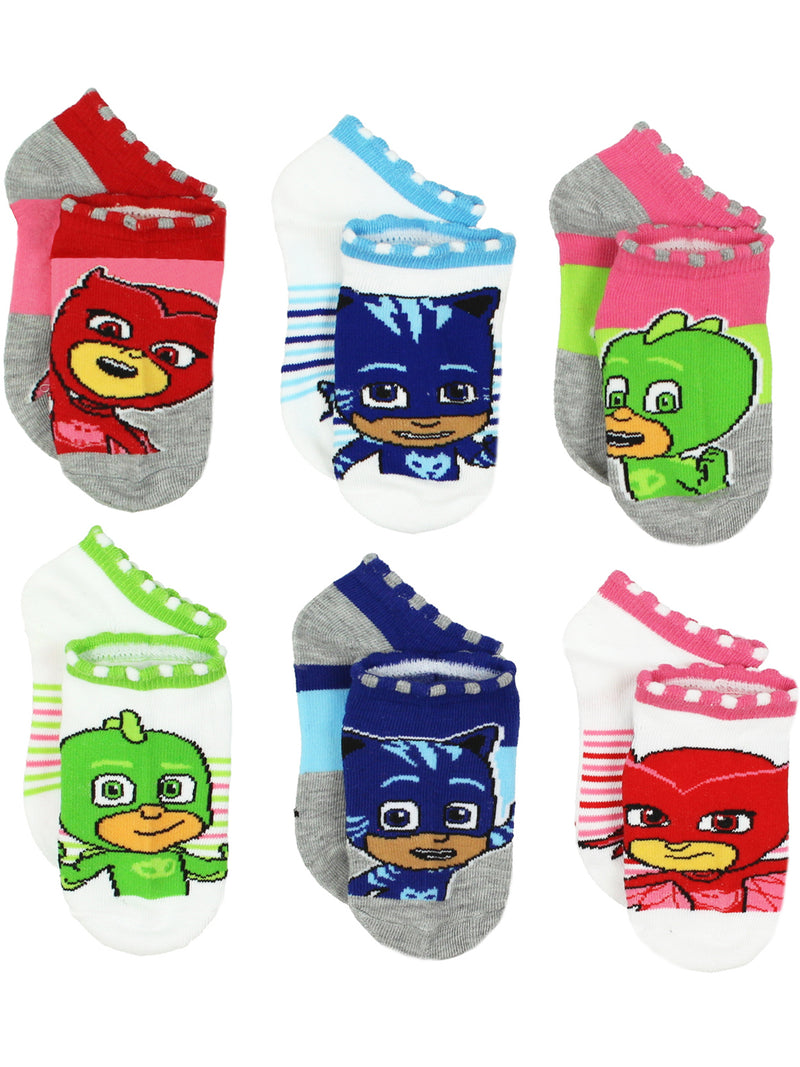 PJ Masks Boys Girls 6 pack Socks (Toddler)