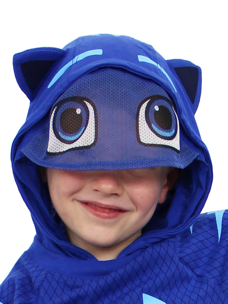 PJ Masks Toddler Boys Catboy Costume Hooded Tee with Mask