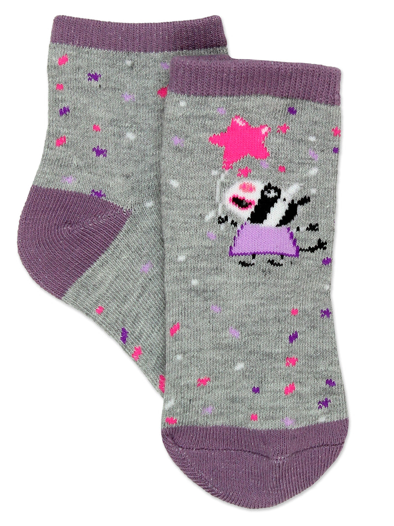 Peppa Pig Girls Toddler 5 Pack Crew Sock Set
