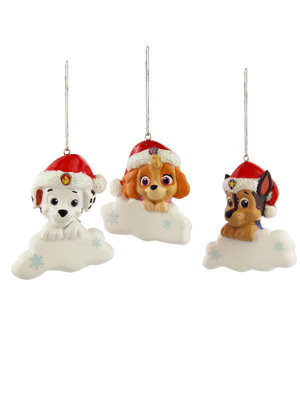 Kurt Adler Paw Patrol Christmas Holiday Personalizable Ornament Gift Boxed