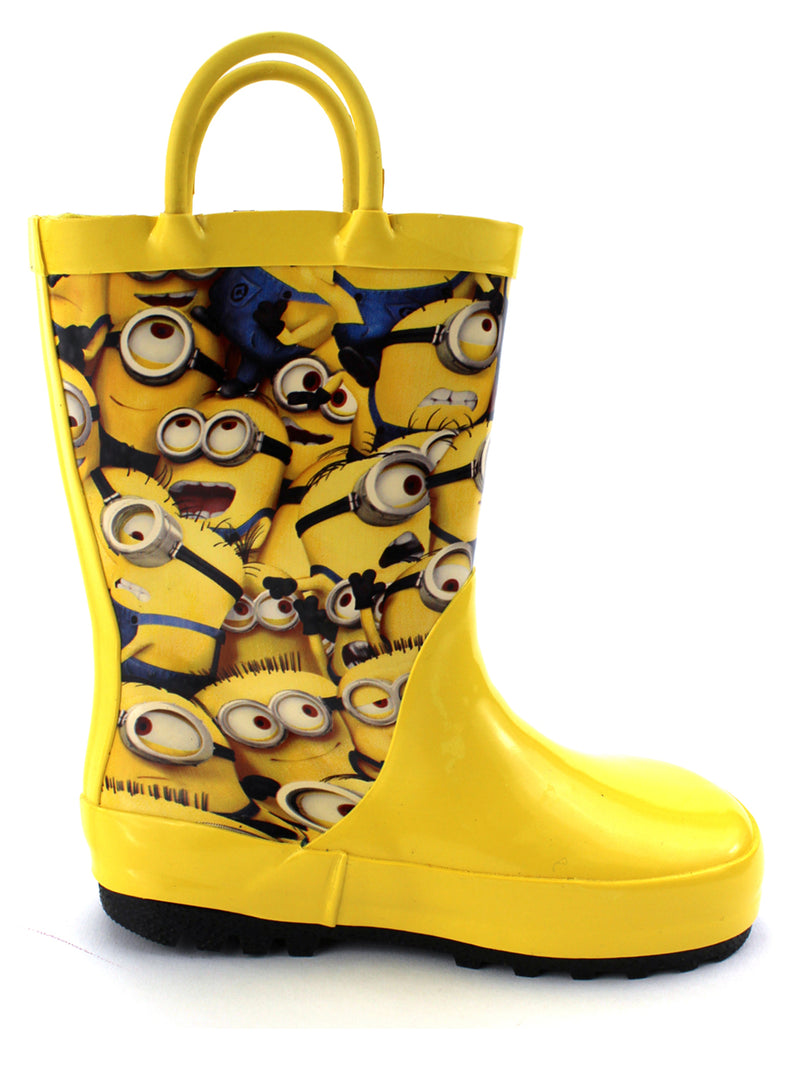 Despicable Me Minions Boys Girls Rain Boots