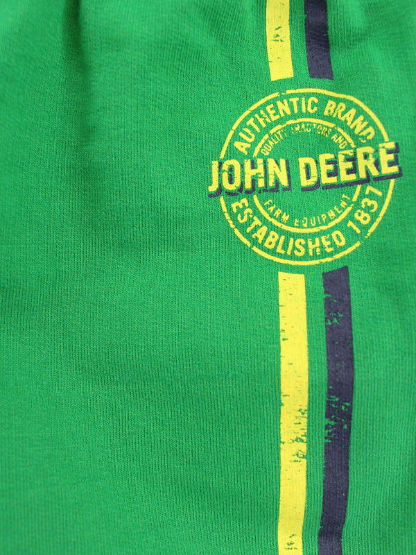 John Deere Boys Green Athletic Shorts