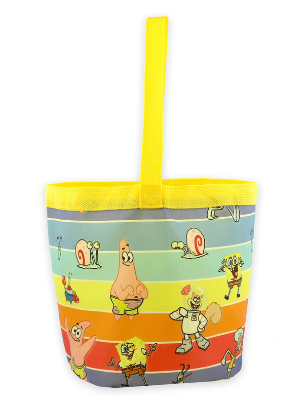 Spongebob Squarepants Boys Girls Collapsible Nylon Halloween Bucket Toy Storage Tote Bag