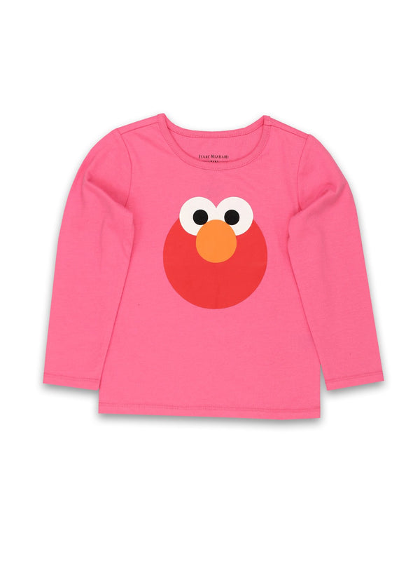 Isaac Mizrahi Loves Sesame Street Elmo Toddler Baby Long Sleeve T-Shirt Tee