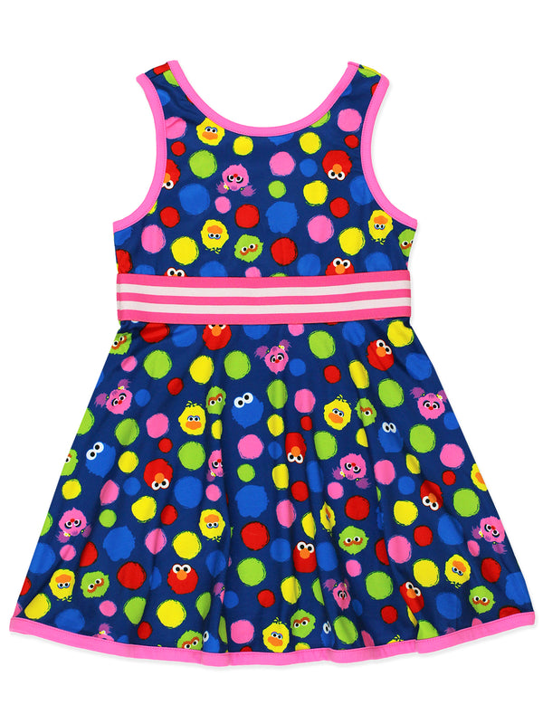 Isaac Mizrahi Loves Sesame Street Elmo Baby Toddler Fit and Flare Soft Dress