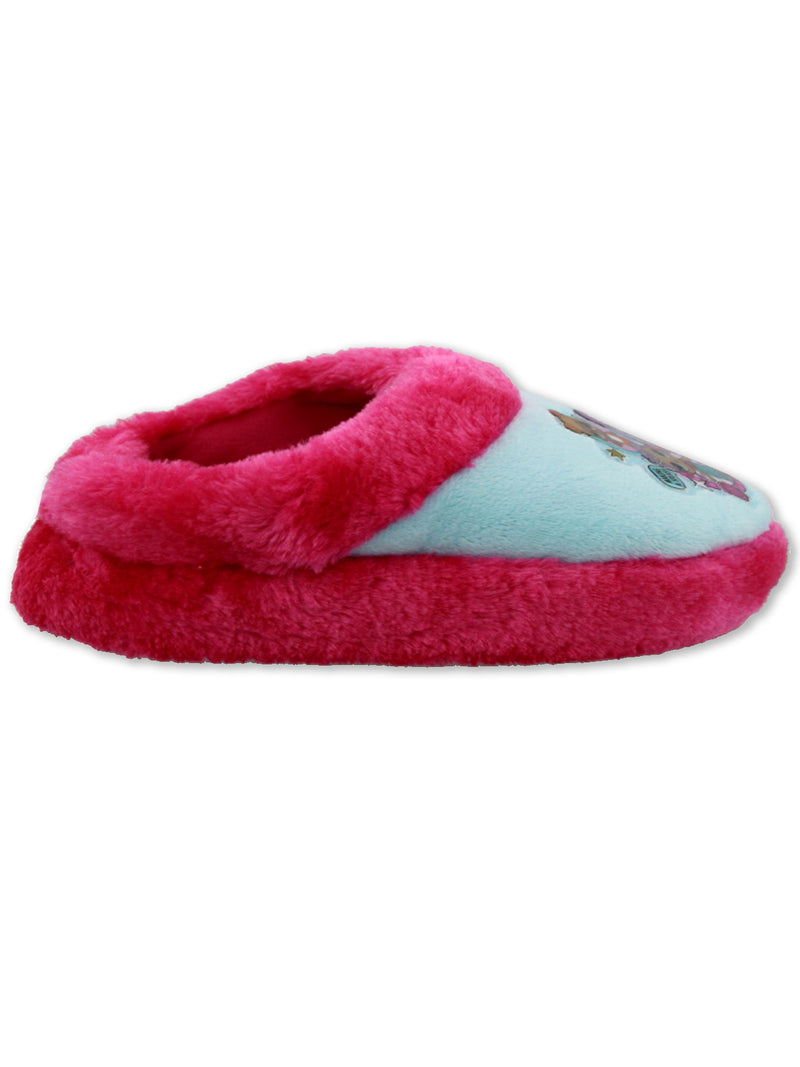 L.O.L. Surprise! Girls Slip On Plush Scuff Slippers with Faux Fur LOL Surprise