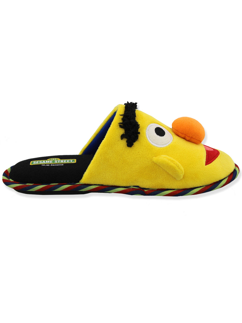 Sesame Street Mismatched Youth Adult Scuff Slide On Slippers