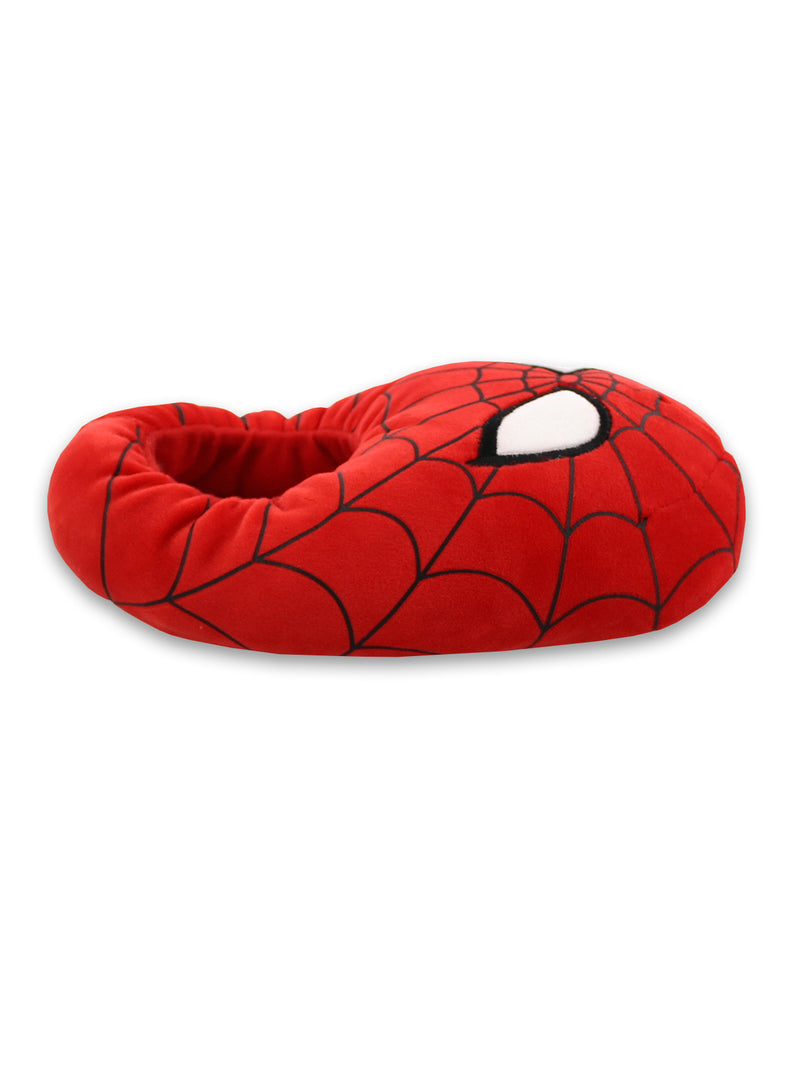 Marvel Spider-Man Mooshy Plush Adult Mens Slippers