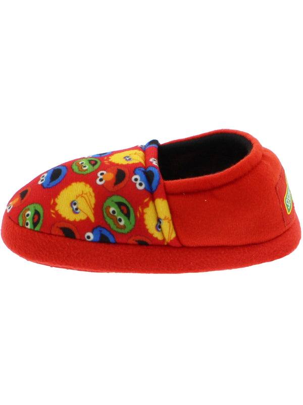 Sesame Street Elmo Cookie Monster Boys Girls Plush Aline Slippers