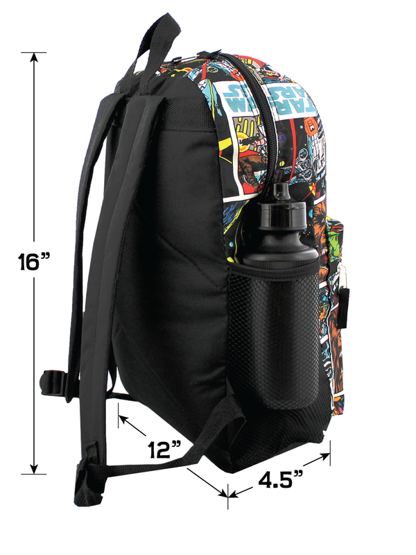 Star Wars 5 piece Backpack and Snack Bag Set