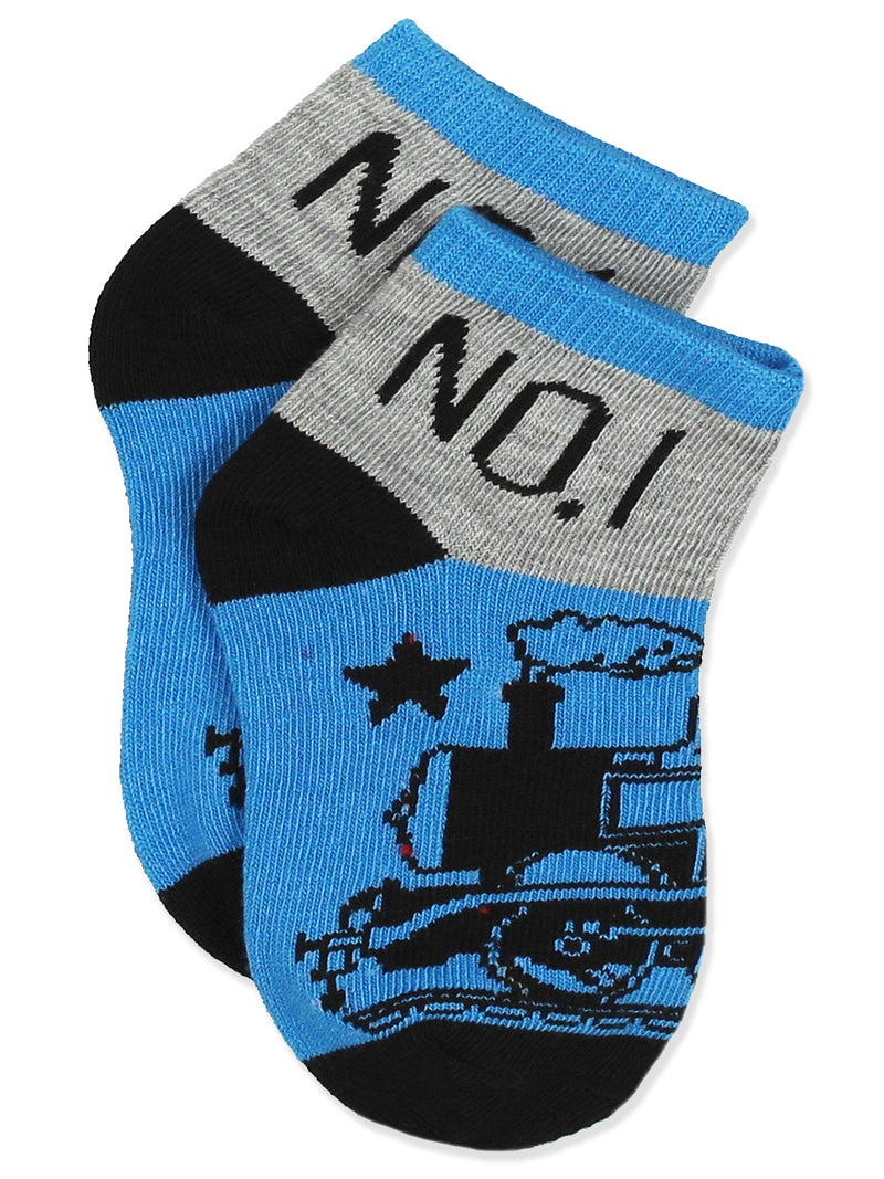 Thomas & Friends Toddler Boys 6 pack Socks Set