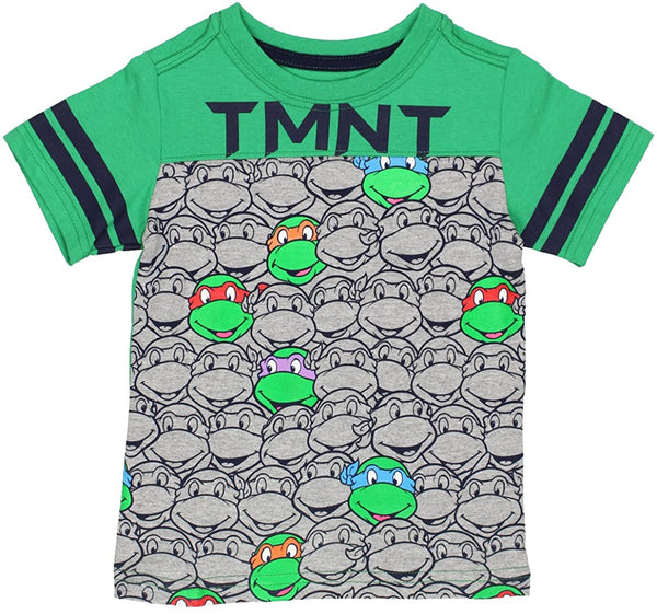 TMNT Teenage Mutant Ninja Turtles Boys Short Sleeve Tee (Toddler)