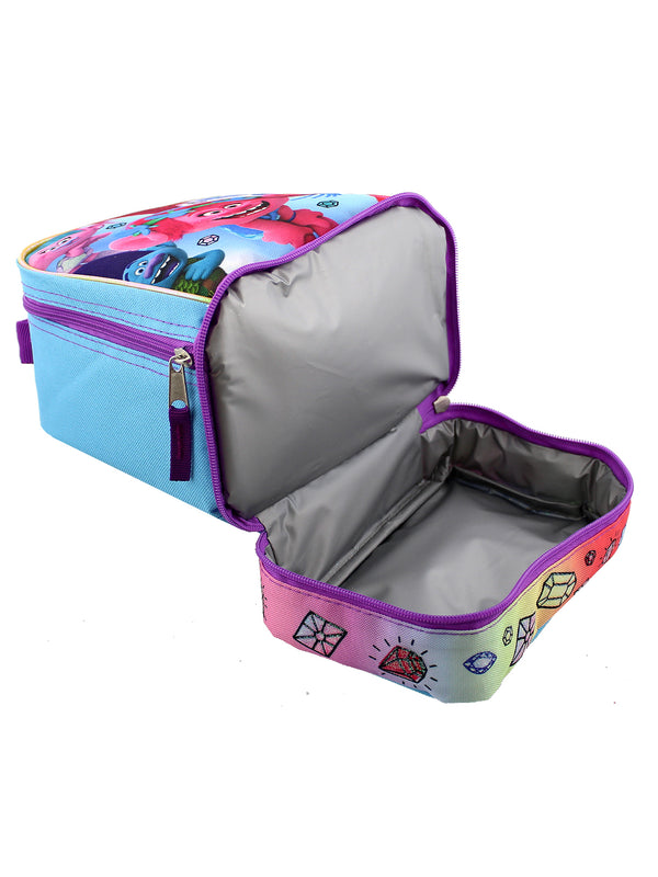Trolls Dual Compartment Soft Lunch Box