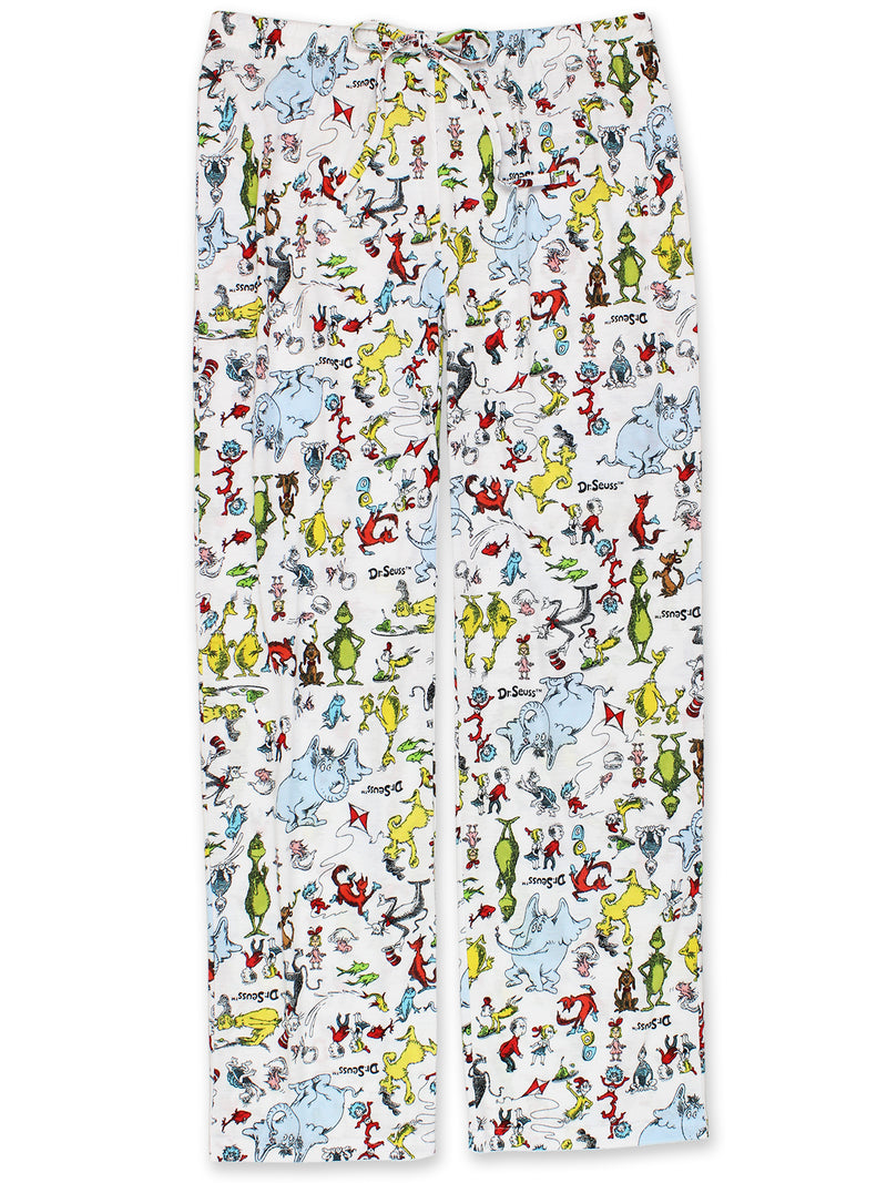 Dr. Seuss Grinch Cat in the Hat Green Eggs and Ham Junior Women's Pajama Pants