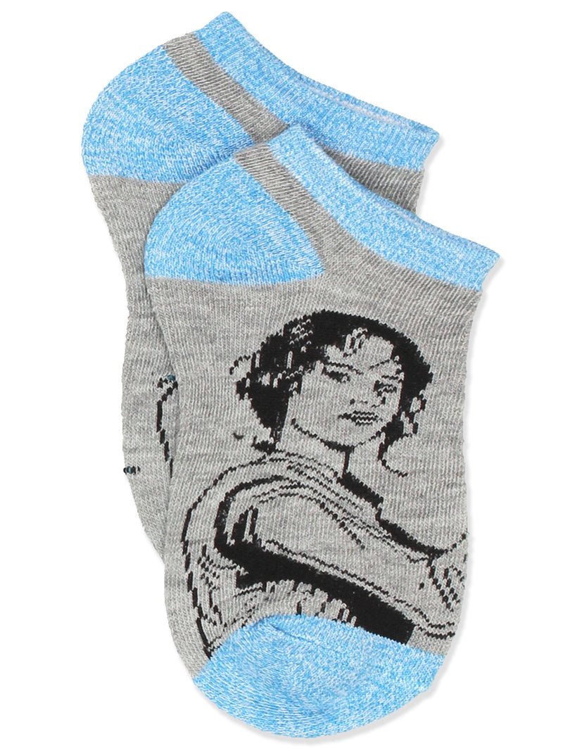 Star Wars Girl's Women's 6 pack No Show Socks Set