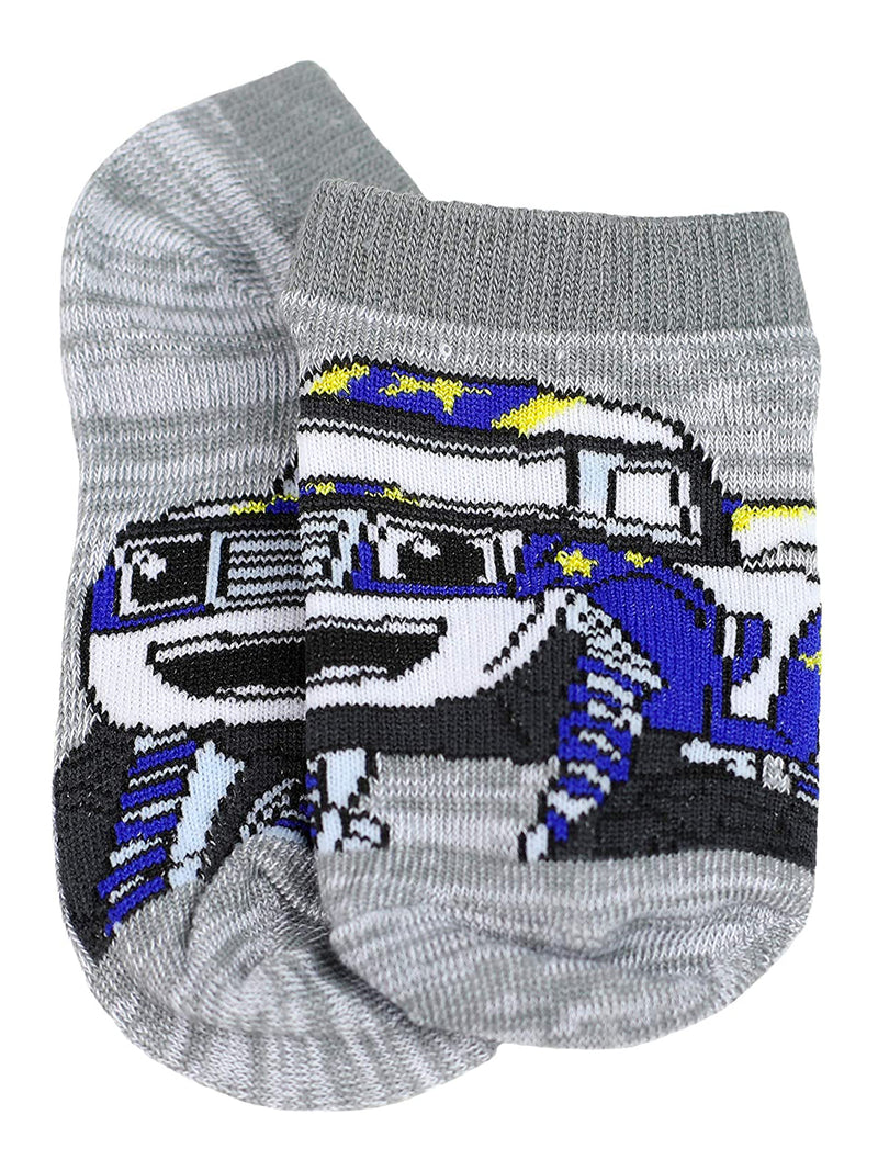 Blaze and the Monster Machines Boys Toddler 5 Pack No Show Socks