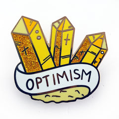 optimism crystal pin