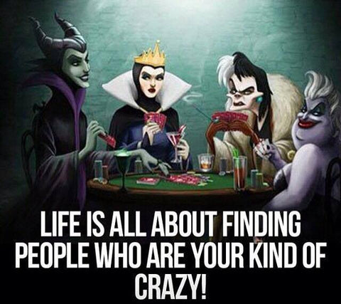 Life is all about finding people who are your kind of crazy...How my friends make me feel