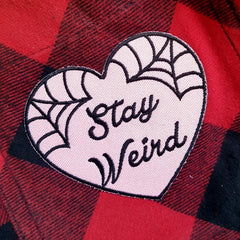 Wear your weird with this free stay weird patch
