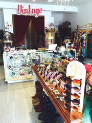 Vintage clothies, dresses, jewellery and boots can be found at Once More With Feeling Shop in Seddon. As well as a cute selection of Jubly-umph brooches, cardigan clips and vegan handbags