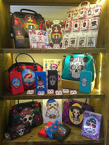 Portal 108s large selection of Jubly-Umph handbags, wallets and jewellery