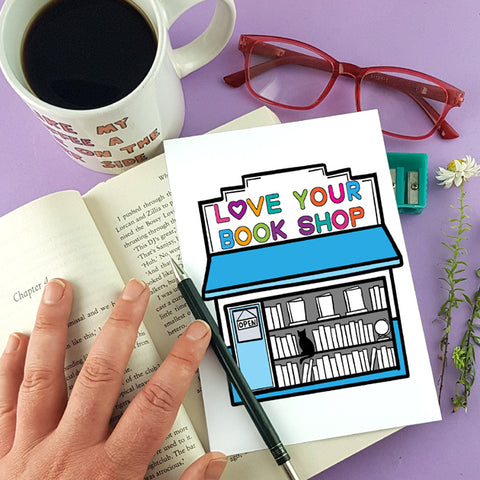 love your bookshop day illustration by Jubly-Umph