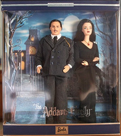 addams family barbie dolls