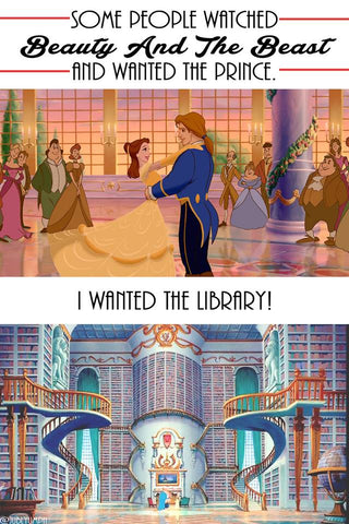 some people wanted the prince but we always wanted the library