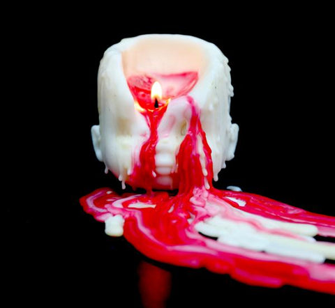 bleeding head candle