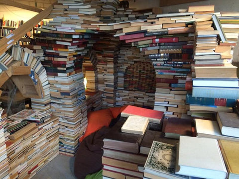 a book fort