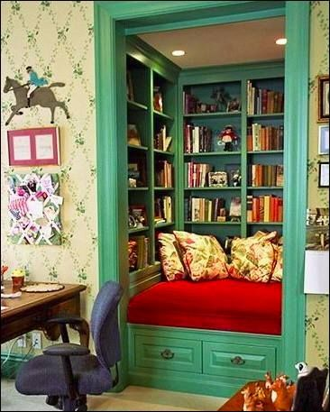 the ultimate book worms book nook