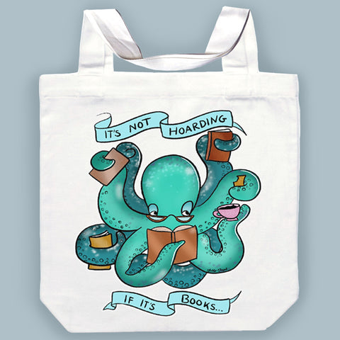 booktopus tote bag