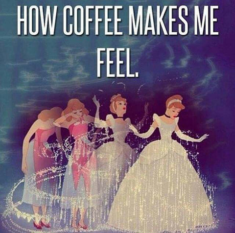 How coffee makes me feel...every day- from the Jubly-Umph blog