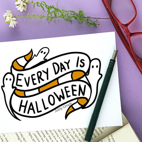 everyday is halloween artwork