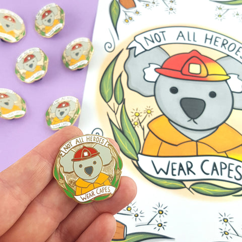 koala charity pin by Jubly-Umph raised $25,000 for bushfire relief