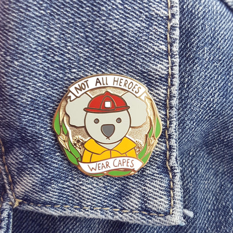 koala charity pin by jubly-umph sold out in less than 24 hours and over $25,000 was raised