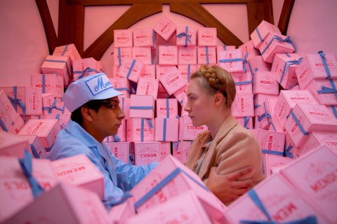 Mendles cake shop from the Grand Budapest Hotel
