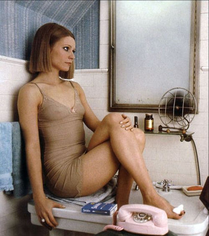 Margot Tenenbaums from The Royal Tenenbaums. I think we will just have to be secretly in love