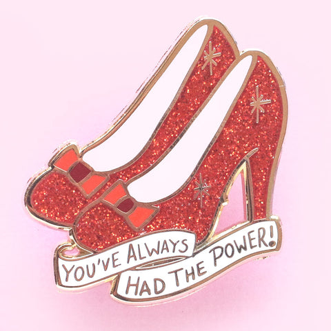 ruby slippers pin