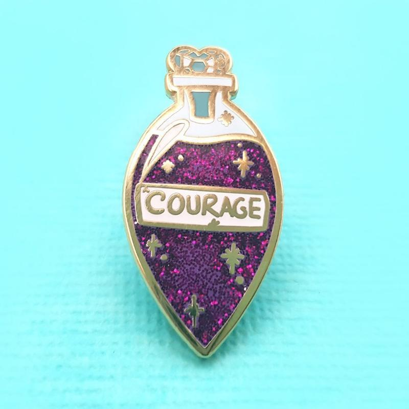 Elixir of Courage Lapel Pin