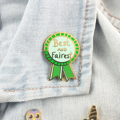 Best and Fairest Lapel Pin