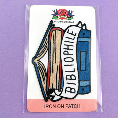 Bibliophile Embroidered Patch