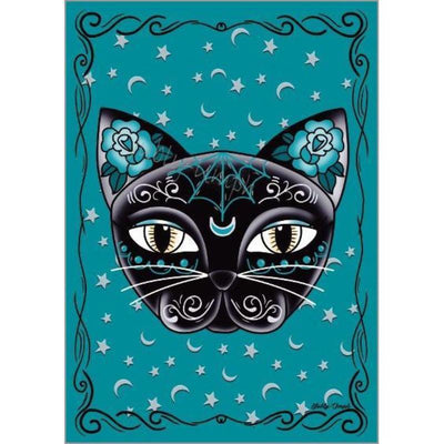 Little Black Cat Luna Kitty Print - Jubly-Umph -  Print, - 2