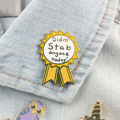 Doing My Okay-est Awards Lapel Pin Set